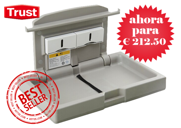 Trust Heimdall cambiador de pañales horizontal. Ahora para 212,50 euro - cambiadordepanales.es
